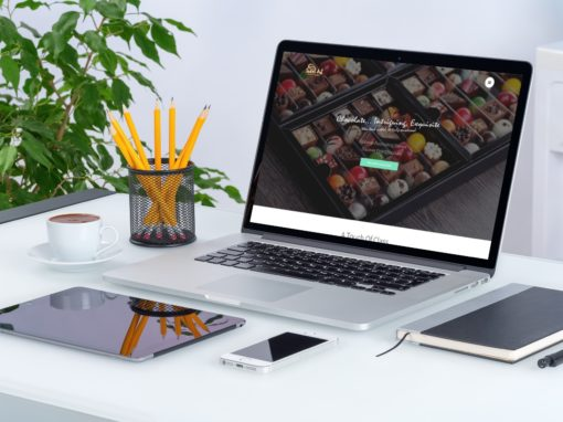 SweetArt Chocolate Website Design